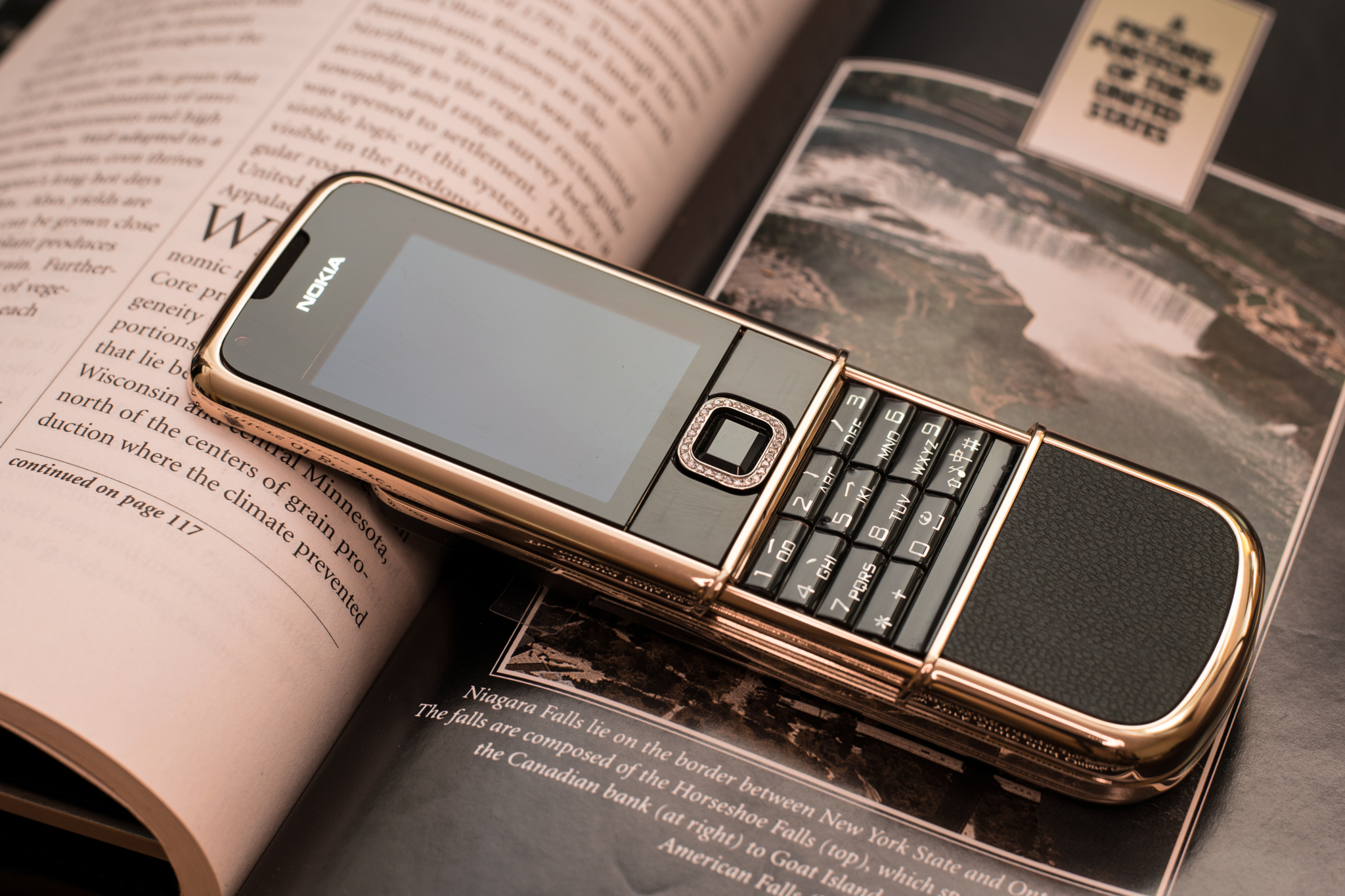 Nokia 8800 Arte Rose Gold