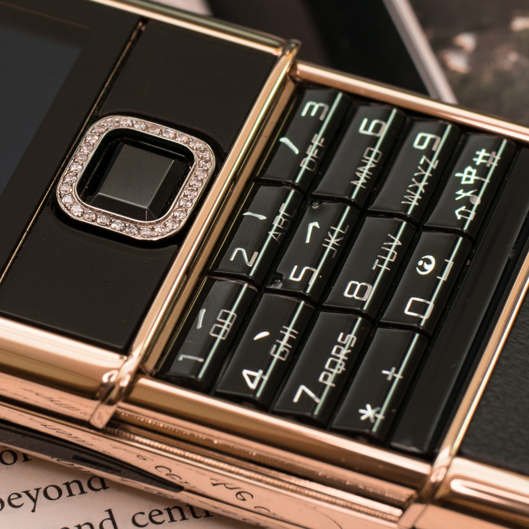 NOKIA 8800 ROSE GOLD