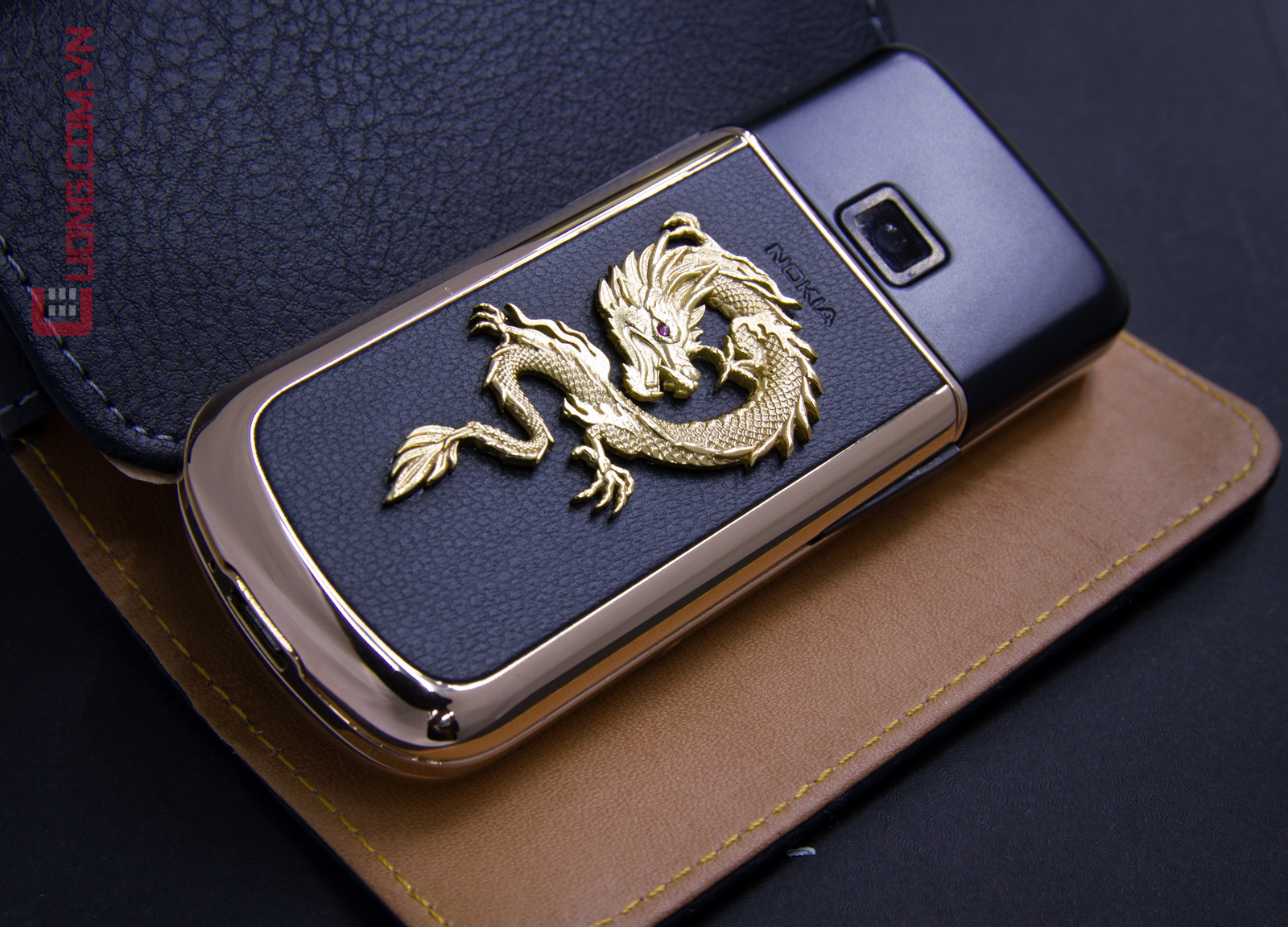 Nokia Rose Gold Arte Dragon