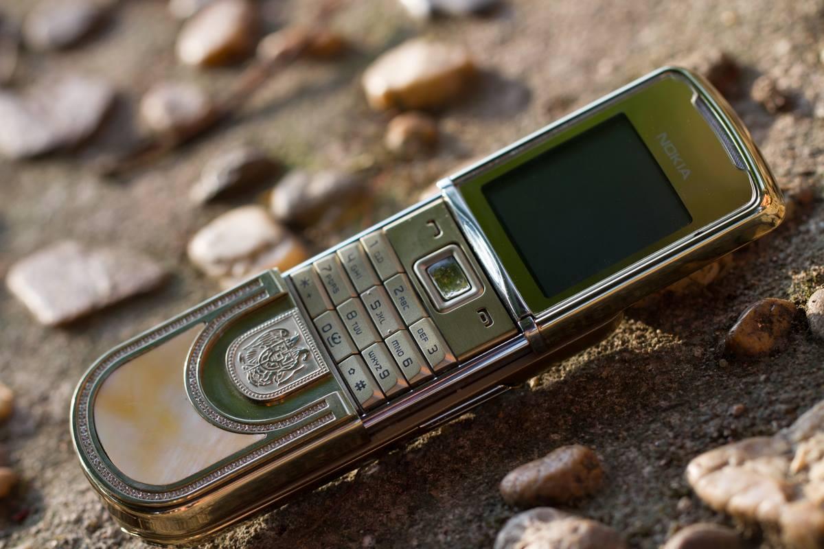 Nokia 8800 Sirocco Gold King Arthur