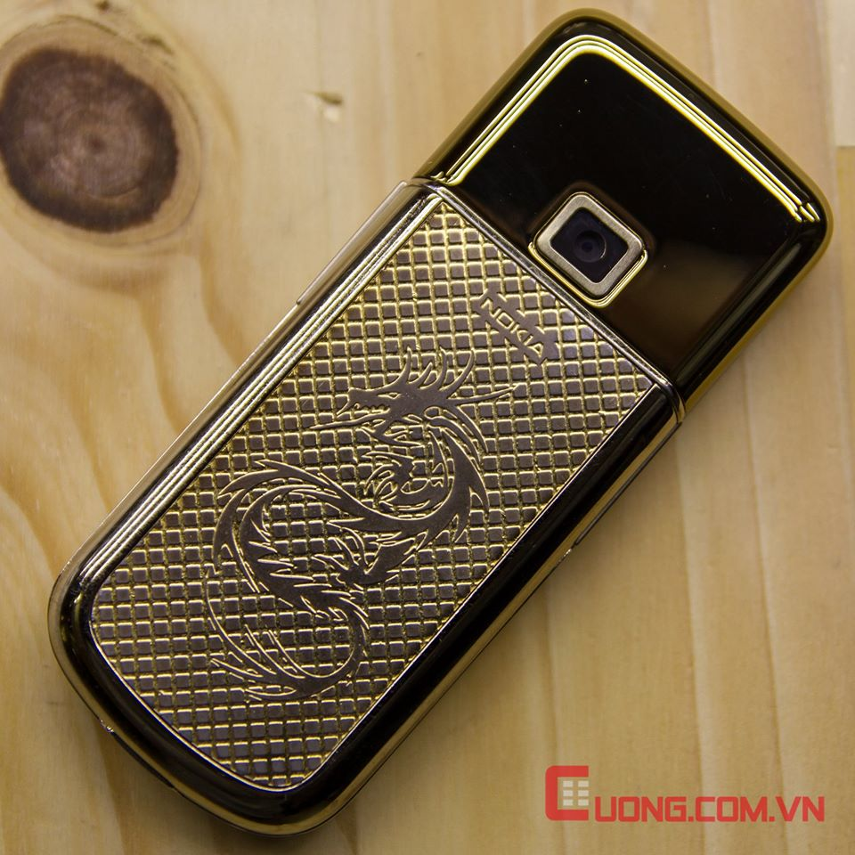 Nokia 8800 Arte Gold Diamond Dragon