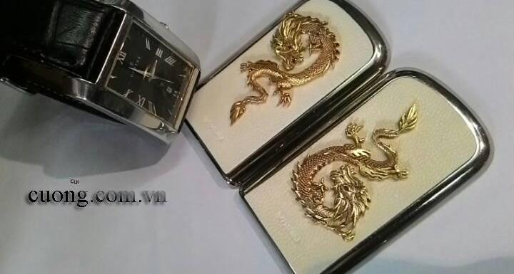 Sự dũng mãnh đến từ rồng vàng phía sau của Nokia 8800 Gold Arte Dragon