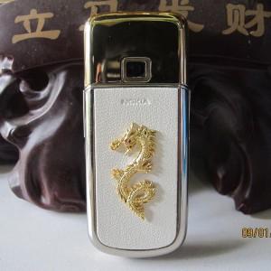 Vẻ đẹp sang trọng đầy quyền lực của Nokia 8800 Gold Dragon