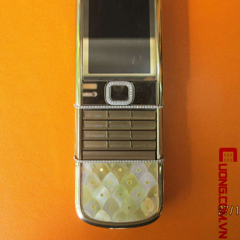 Nokia Gold Arte Diamond kh?m ?c