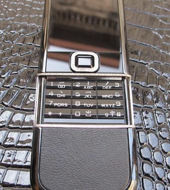V? ??p lung linh c?a Nokia 8800 Sapphire Arte Black Diamon