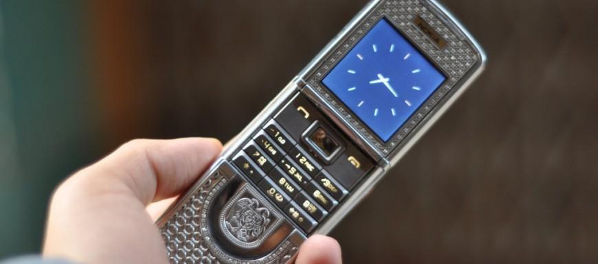 Nokia 8800 Sirocco Light King Arthur khi trên tay bạn