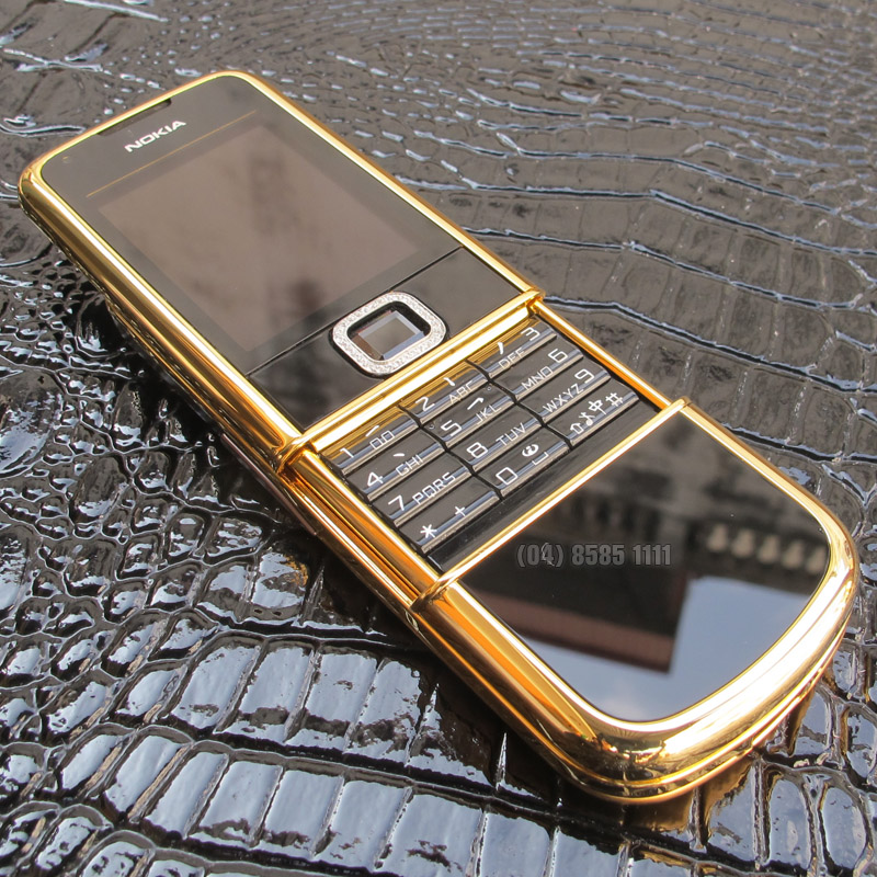 V? ??p trang nh� l?ch l�m c?a Nokia 8800 Black Gold Dragon