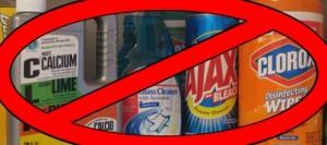 Nói không với chất tẩy rửa