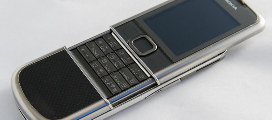 Vẻ đẹp của Nokia 8800 Cacbon Arte