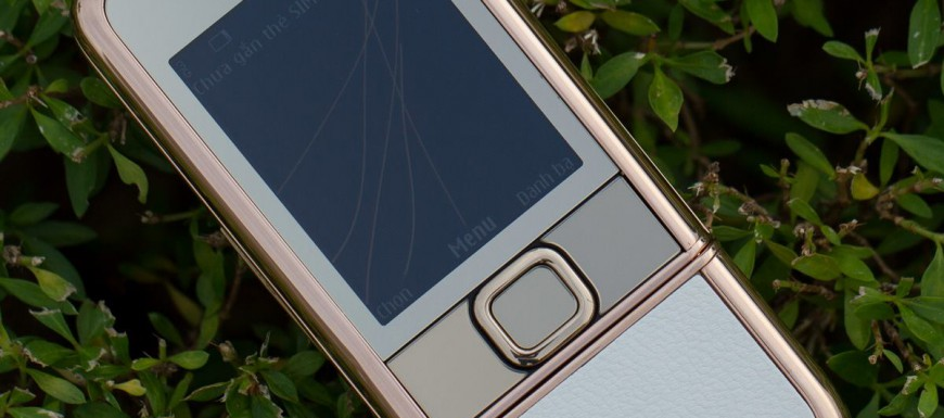 Vẻ đẹp của Nokia 8800 Gold Arte