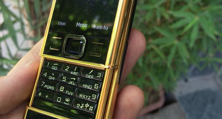 Nokia 8800 Black Gold 24k Dragon
