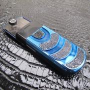 Mặt sau của chiếc Nokia 8800 Sirocco King Arthur