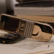 Vẻ đẹp đầy đẳng cấp với chiếc bàn phím mạ vàng 18kara của Nokia 8800 sirocco gold